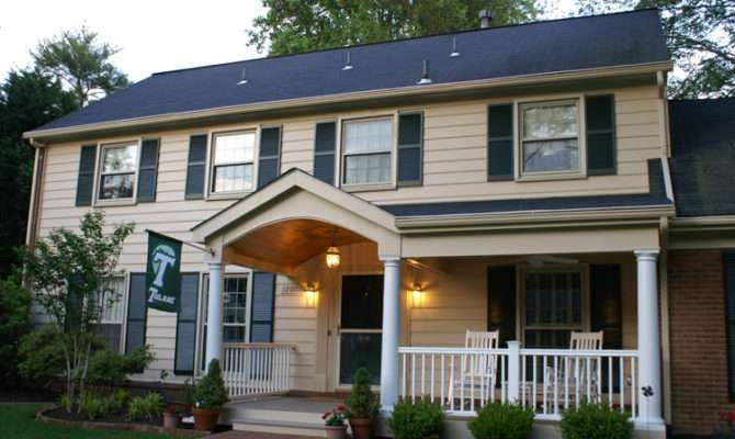 Front Porches Porticos Maryland Custom Outdoor