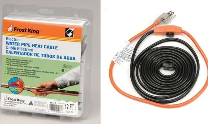 Frost King Electric Heat Cable Kit Youtube