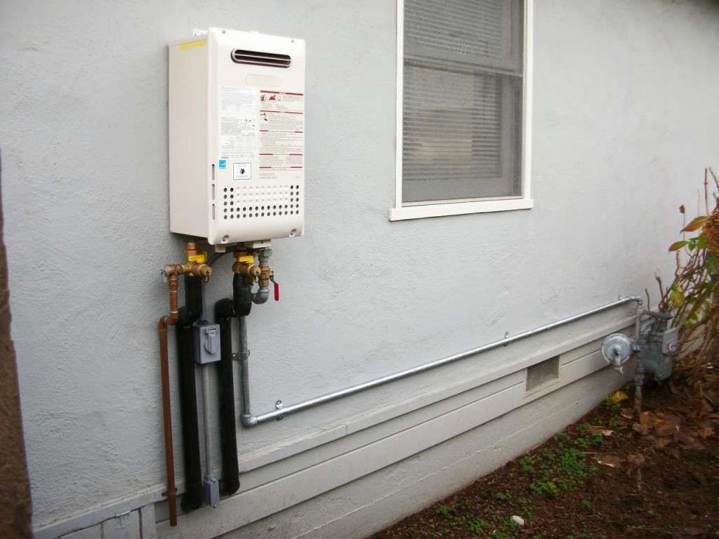 Frozen Pipes Tankless Water Heater
