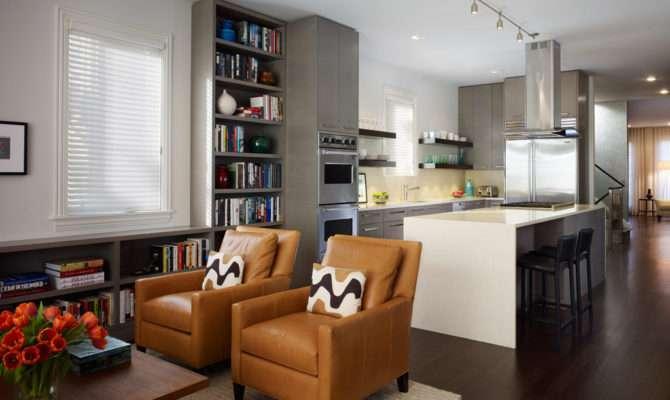 Functional Ideas Kitchen Living Room Design