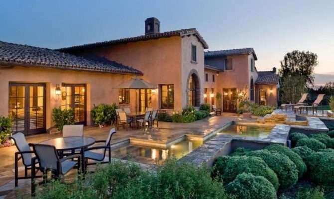 Furnish Mediterranean Style Home Design