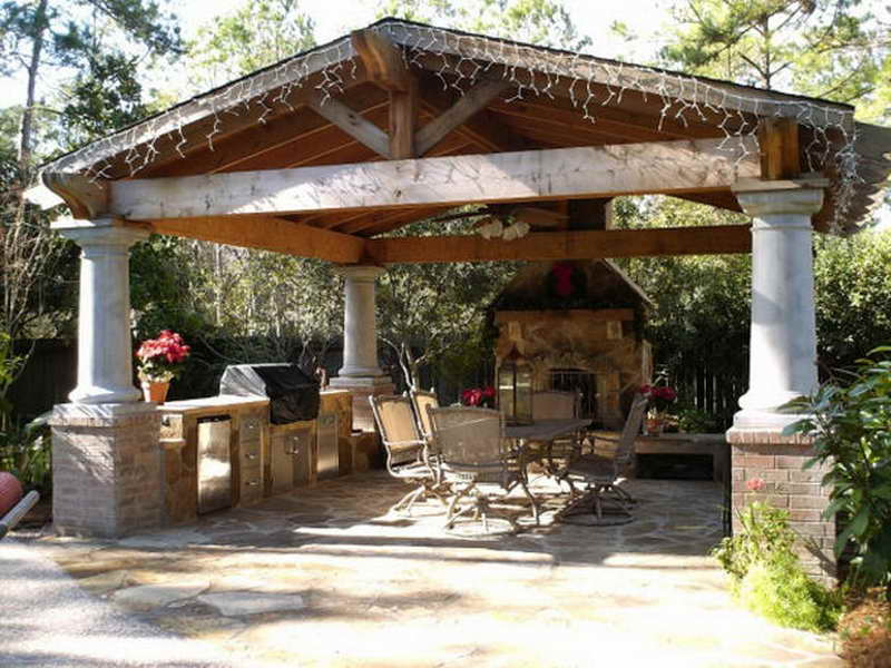 Furniture Covered Patio Outdoor Rooms Budget Make