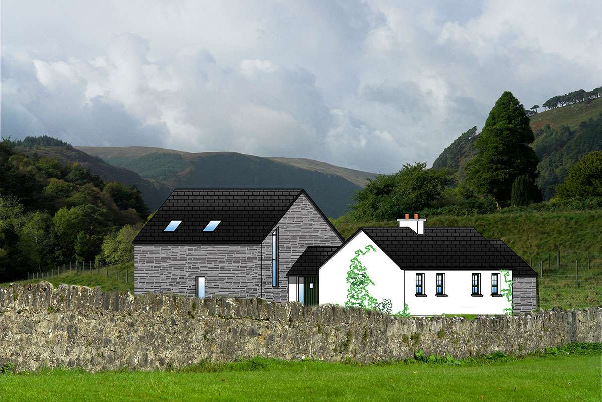 Fushia Cottage Plans Cottageology Irish Cottages Culture