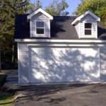 Gable Garages Hip Reverse Flat Roof Deck