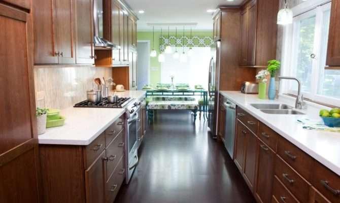 Galley Kitchen Designs Choose Layouts