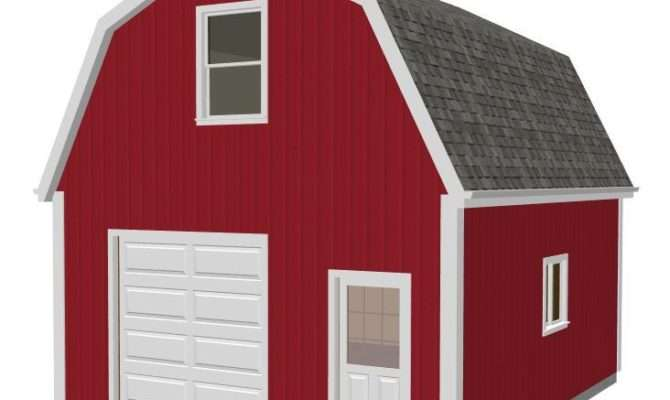 Gambrel Barn Plans Ebay