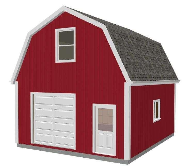 Gambrel Barn Plans Ebay
