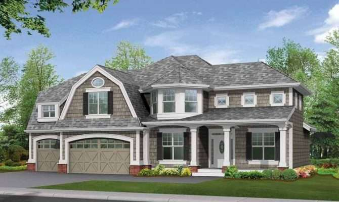 Gambrel Roof House Plans Car Interior Design
