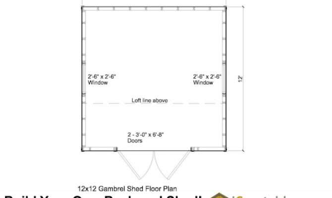 Gambrel Shed Plans Barn