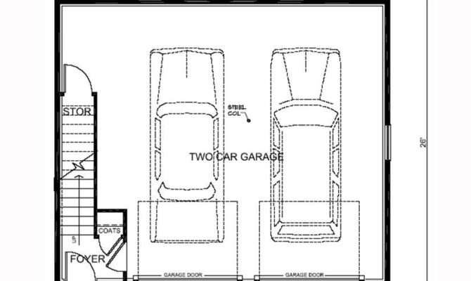 Garage Apartment Plan Total Living Area