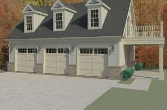 Garage Apartment Plans Car Plan Guest
