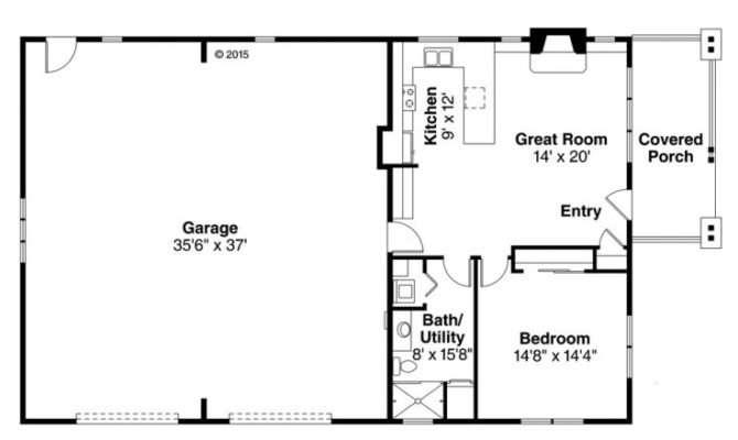 Garage Apartment Plans Story Plan Car