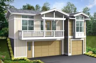 Garage Apartment Plans Three Car Plan Design