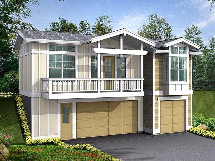 Garage Apartment Plans Three Car Plan Design