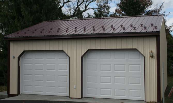 Garage Customer Projects Car Apm Pole Building Kits