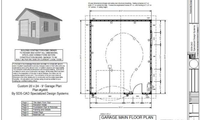 Garage Floor Plans Diy Build Bar Using