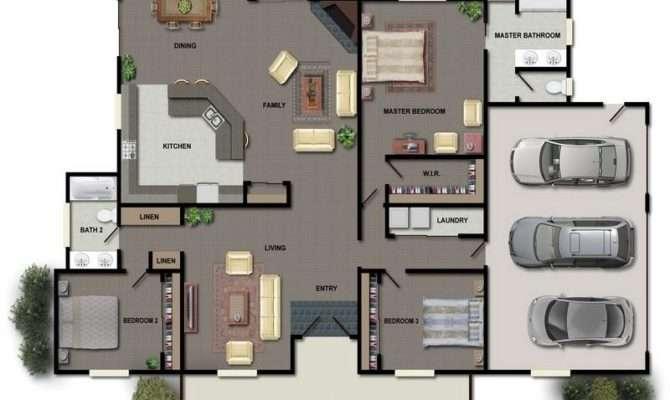 Garage House Apartment Floor Plans Stroovi