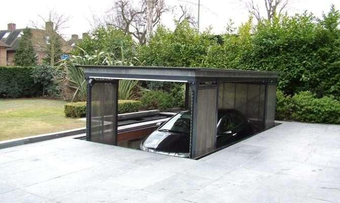 Garage House Plans Underground Unique