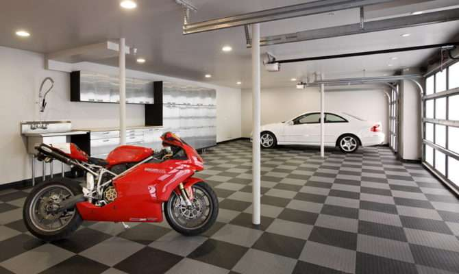 Garage Interior Design Designs