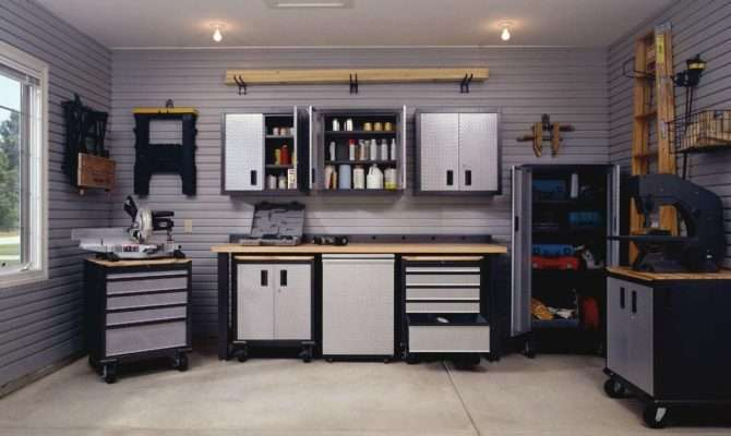 Garage Interior Design Ideas Petrolheads Black White
