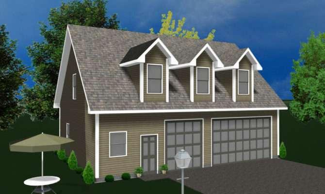 Garage Kit Shell Prefab Living Quarters