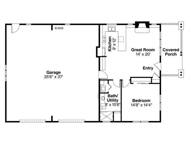 Garage Living Quarters Floor Plans