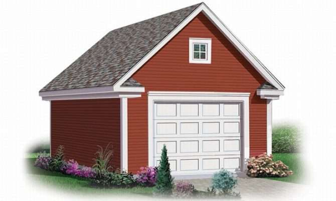 Garage Loft Plans Detached Car Plan