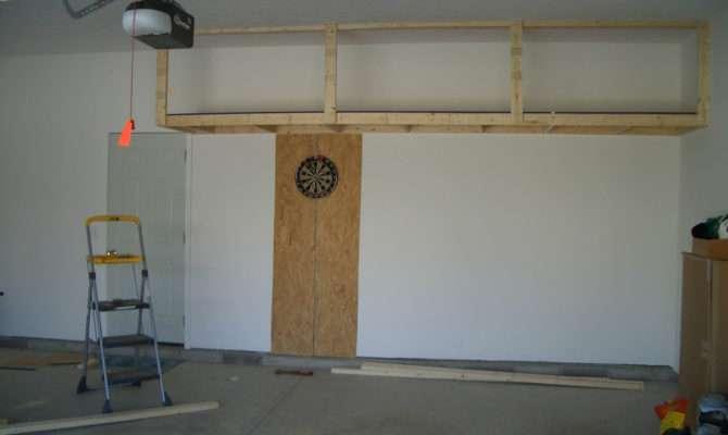 Garage Loft Storage Design