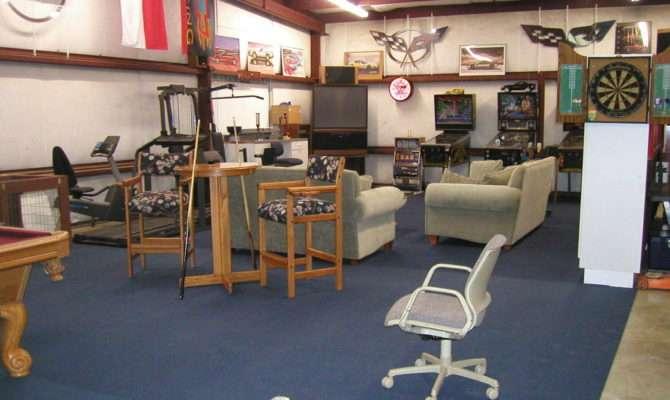 Garage Pics Game Room