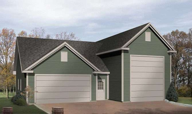 Garage Plan Architectural Designs House Plans