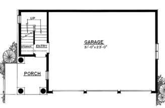 Garage Plan Dream Style Design Car Apartment Garages