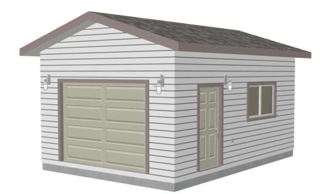 Garage Plan Garden Shed Plans