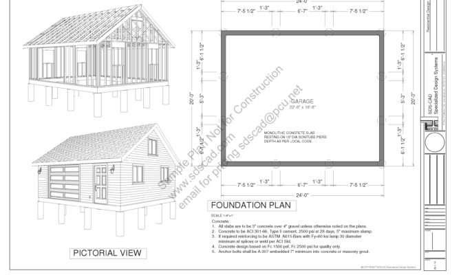 Garage Plans Blueprints Sds