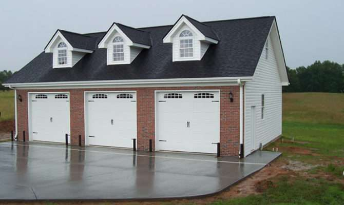 Garage Plans Brick Section Sheds
