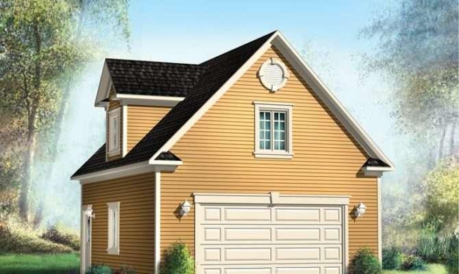 Garage Plans Loft Two Car Plan