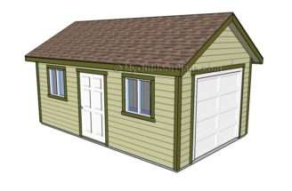 Garage Plans Outdoor Diy Shed Wooden Playhouse