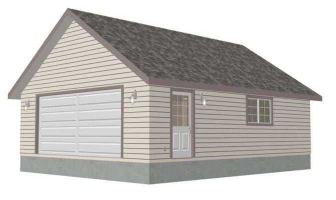 Garage Plans Pole Barn Detached