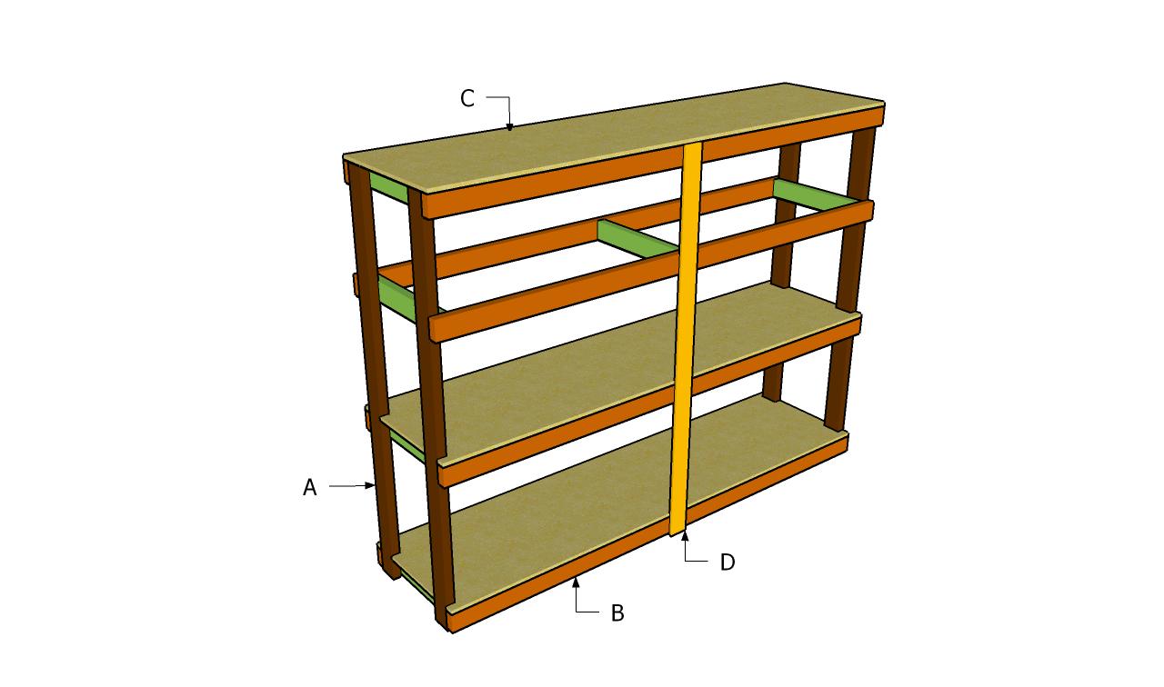 Garage Shelves Plans Storage Shelving Systems