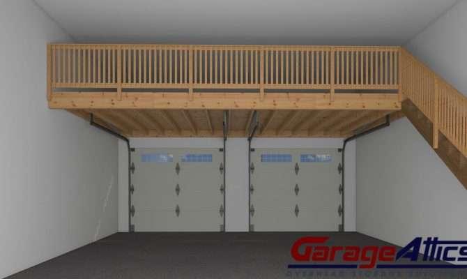 Garage Storage Loft Ideas Massive Overhead
