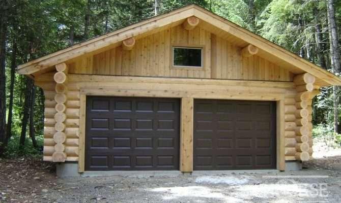 Garages Custom Log Homes Home Builders Designs Plans