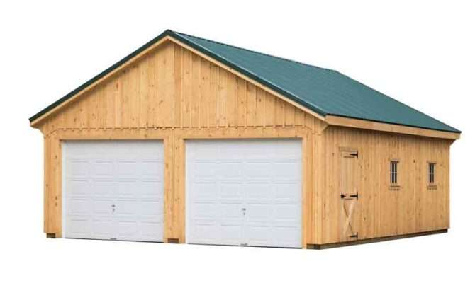 Garages Garage Board Batten Siding Green Metal