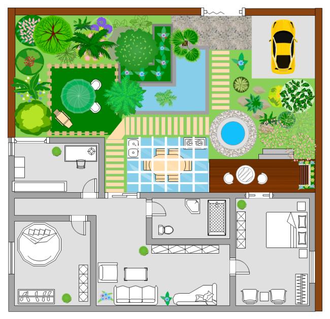 Garden Floor Plan Templates