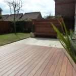 Garden Makeover Paving Ipe Hardwood Deck Vertical