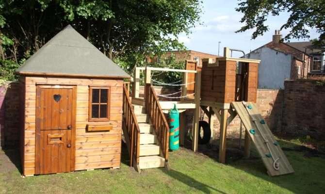 Garden Playhouse Castle Tower Playhouses