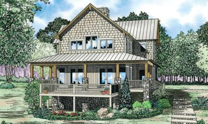 Gardner Creek Shingle Style Home Plan House