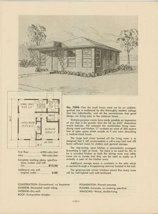 Garlinghouse Economy Houses House Plans