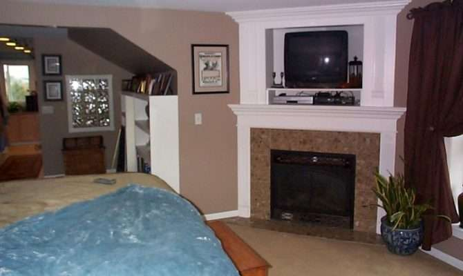 Gas Fireplace Logs Bedroom Master Small