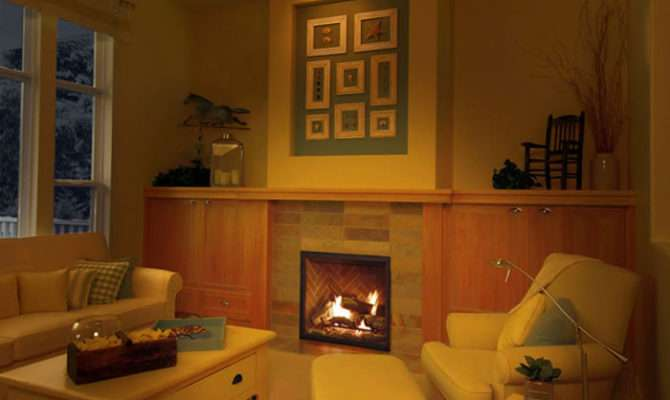 Gas Fireplace Perfectly Sized Bedrooms Bathrooms Smaller Spaces