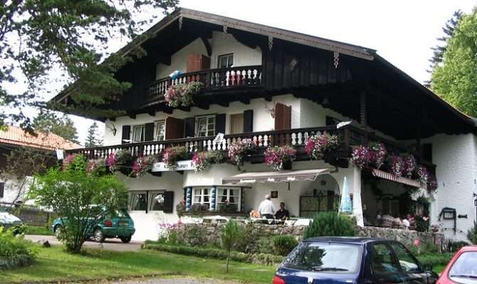 Gasthof Koegel Bavarian Style Homes Bayerische User Pinterest