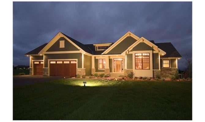 Gavin Craftsman Ranch Home Plan House Plans